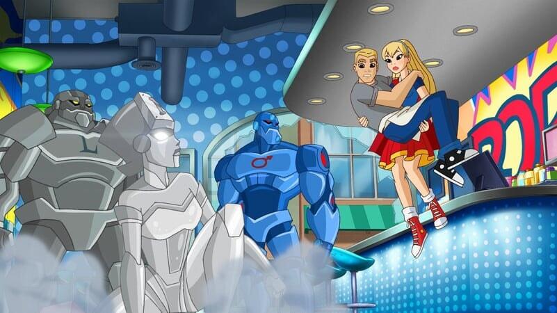 DC SUPER HERO GIRLS: INTERGALACTIC GAMES - Image - Afbeelding 1