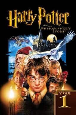 Harry Potter 1: en de Steen der Wijzen - Key Art