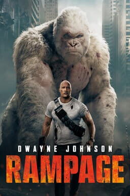 Rampage: Big meets bigger - Key Art