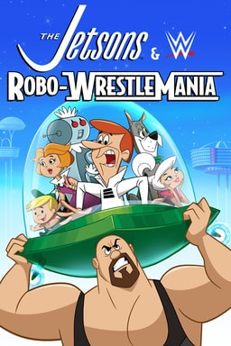 Jetsons & WWE: Robo-Wrestlemania - Key Art
